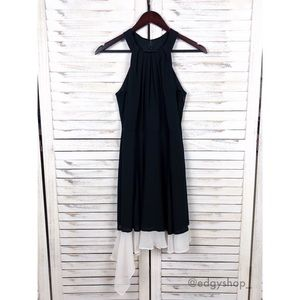 Express | Halter Fit and Flare Dress